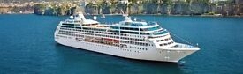 Pacific Princess Cruise ship lunch & tour of ship in aid of TinyLife, the premature baby charity