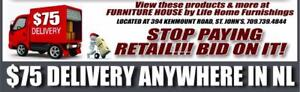 NEW Furniture Auction!  Don't pay retail...BID ON IT.  100's of products available.