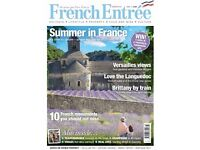 French Entree magazine 'Summer in France'