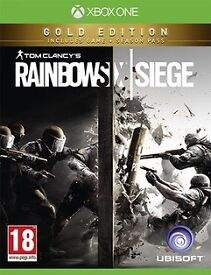 Rainbow six siege gold edition brand new unopened