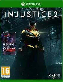 Xbox one games INJUSTICE 2 and PREY both new sealed