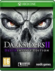 Both Darksiders 1 played once and Darksiders 2 new and sealed xbox one games