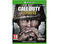 Call of Duty WW2 wanted Xbox one