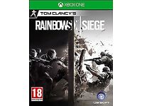 TOM CLANCY'S RAINBOW SIX SIEGE full game dl , xbox one ! price stands , no offers !