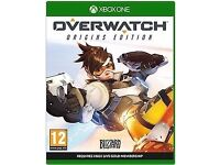 SW London Surrey XBOX ONE Overwatch Origins edition - Brand new, sealed, unopened