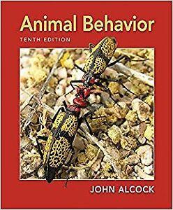 Animal Behaviour Tenth Edition BIO318 / BIO328 UTM