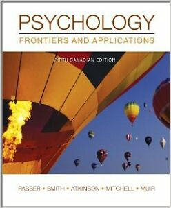 Psychology: Frontiers and Applications, 5th Canadian Edition