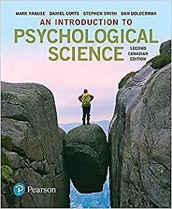 Introduction to psychological science 2nd cdn edition