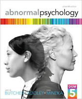 Abnormal Psychology (16th Edition) by Butcher, Mineka and Hooley