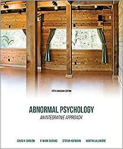 Abnormal Psychology: An Integrative Approach *Loose Leaf*
