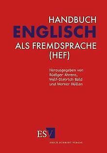 Handbuch Englisch als Fremdsprache (HEF) von Ahrens, Rüd... | Buch | Zustand gut
