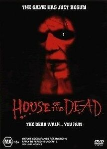 HOUSE OF THE DEAD, REGION 4, NEW AND SEALED FREE POST