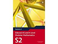 Edexcel Statistics S2 with CD + other A2 school Books for sale (Chemistry, Physics, Biology etc )
