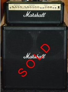 Marshall Stack Amp G100R-CD Head with Cabinet and Footswitch