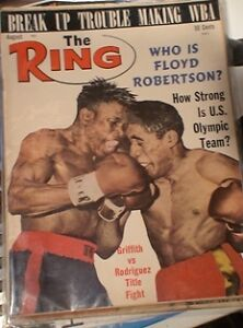 BOXING MAGAZINE. RING MAGS ETC.1950'S TO 80'S Belleville Belleville Area image 7