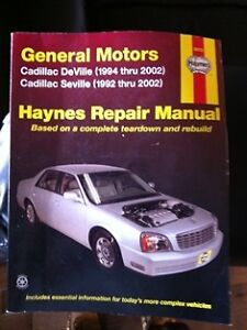 Haynes Cadillac repair manual