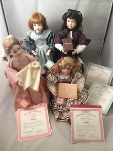 Ashton Drake Porcelain Dolls - Little Women 1994 series