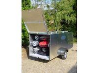 Oxendon Aluminium Windsurfing trailer