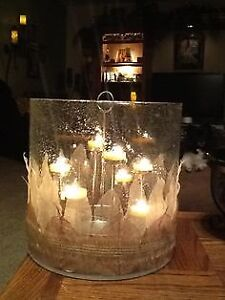 Looking for this large PartyLite Hurricane candle holder
