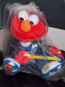 SASAME STREET ROCK & ROLL ELMO RARE HARD TO FIND 1
