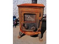 WANTED...Wood burning stove any condition or size