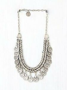 Free People Antayla Coin Collar Necklace