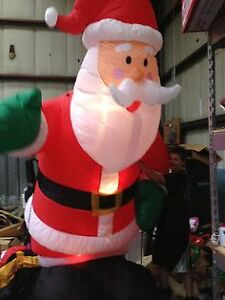 12 foot blow up Santa clause for sale
