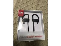 Apple Beats Powerbeats 3 wireless headphones boxed with accessories