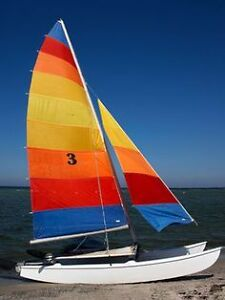 Hobie Cat, or Prindle Catamaran 16'
