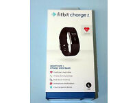 **Brand New Fitbit Charge 2 Black, Large**