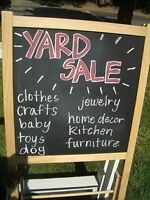 Large Garage Sale, tools, clothes, furniture, kids stuff more