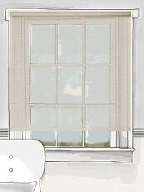 2 Tuiss Diffusion Luxe Roller Blinds - Bleached Sand