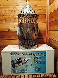 The Rock-It Automatic Fish Scaler Windsor Region Ontario image 1