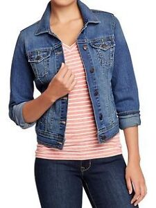 Women's Old Navy medium wash denim jacket Small New with tags London Ontario image 1