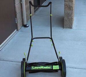 Lawnmaster Push Mower with Free Rake
