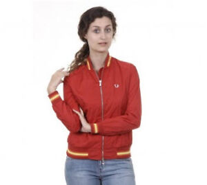 FRED PERRY WOMEN'S SPORT JACKET RED