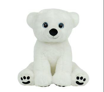 Cuddly Soft 16 inch Stuffed the Polar Bear...We stuff 'em...you love 'em! - Bear
