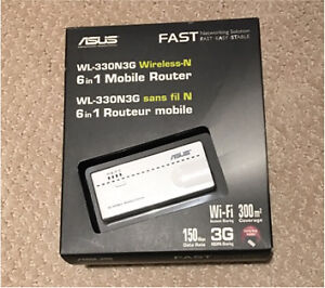 Asus mobile router