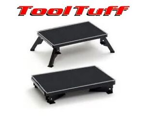 Steel Rv Folding Platform Safety Step Camper Camping