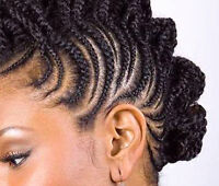 African home made hair styles / Coiffeuse à Domicile