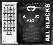 All Blacks Framed