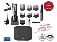 New Rechargeable Hair Grooming Kit Digital Display Clipper Trimmer Beard