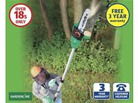Electric tree pruner bought to do 1 job but then never used