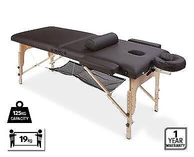 massage table and free massage oil quick sale