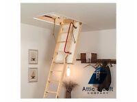 Loft Ladder - Timber Delux Foldaway