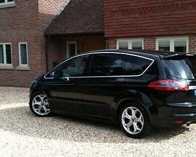 black top spec s-max titanium x sport, 2.2tdci, 7 seats, satnav