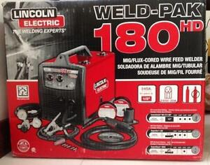 LINCOLN 180 WELDPAK Welder - 220 Volt - New Unused