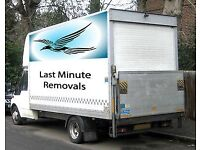 MAN AND VAN LAST MINUTE REMOVALS WE MOVE ANYTHING ANYWHERE ANYTIME 24/7 TROUBLE FREE