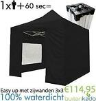 ACTIE! easy up partytent party tent vouwtent 3x3 3x4,5 meter