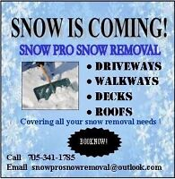 Snow removal book now !